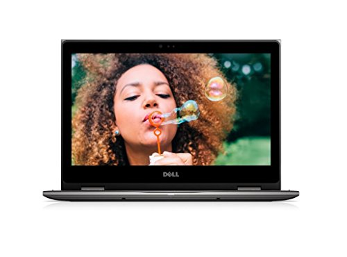 Dell Inspiron 13 5378 33,8 cm (13,3 Zoll FHD) Convertible Laptop(Intel Core i3-7130U, 256GB SSD, Intel HD Graphics 620, Touchscreen, Win 10 Home 64bit German) schwarz grau