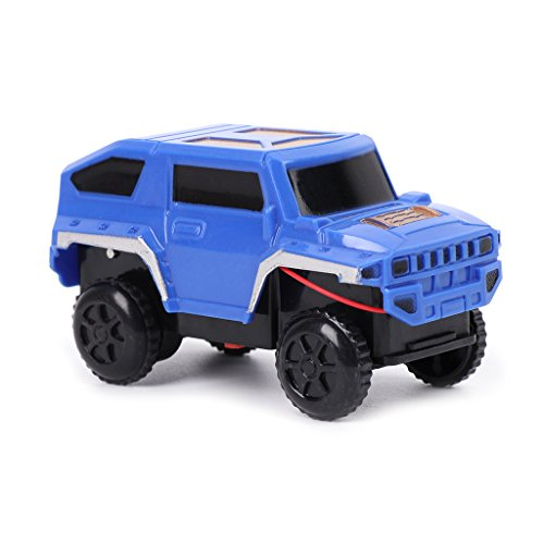 JAGETRADE Electronics Tracks Car Toys DIY Toy Cars for Children Kids Toy Birthday Gift