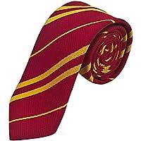 Harry Tie Wizard School Tie Soft Gryffindor Tie Party Costume Necktie for Halloween Hermione Tie for Harry Halloween…
