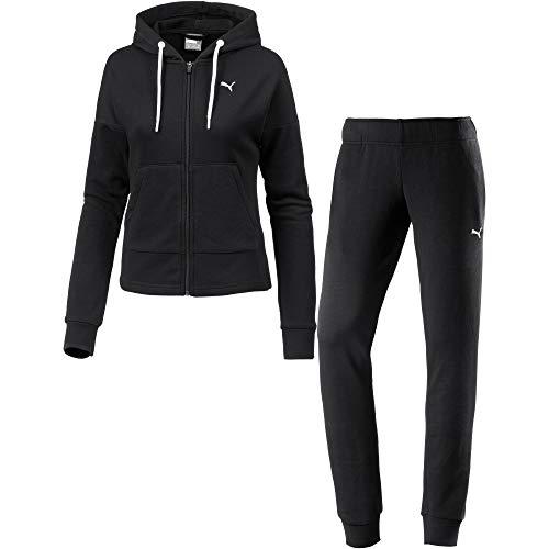 Puma Damen Classic HD. Sweat Suit, cl Trainingsanzug, Cotton Black, M
