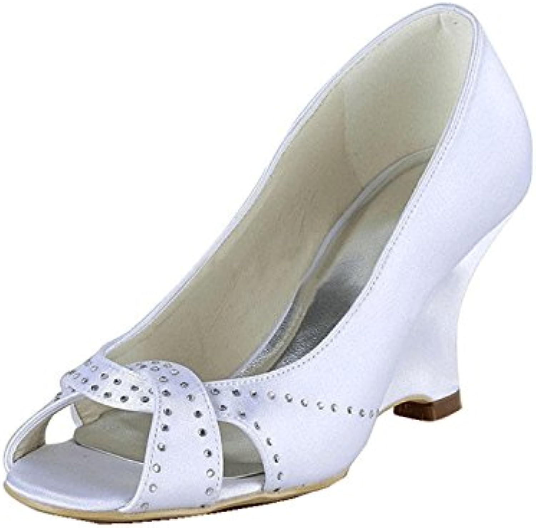 kevin fashion mz1222 mesdames bal wedge talon haut soirée bal mesdames une cérémonie de mariage nuptiale groupe satin sandal es b01d8t0ea0 parent 8b2bba