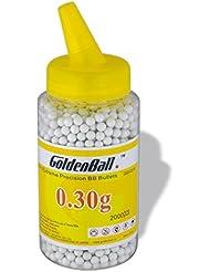 Martinez 35653. Biberón 2000 bolas Pvc, 6mm 0,30 gr. Bolas de alta precisión para airsoft