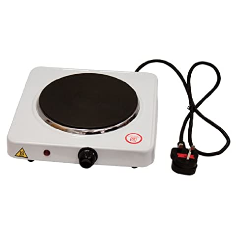 SQ Professional 1500W Single Electric Hot Plate Portable Cooking Hob