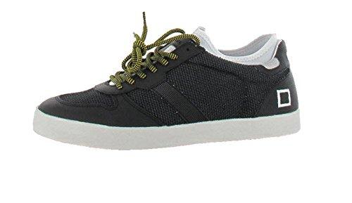 D.A.T.E. court Socks Pop Blackroll Noir - 00 Black