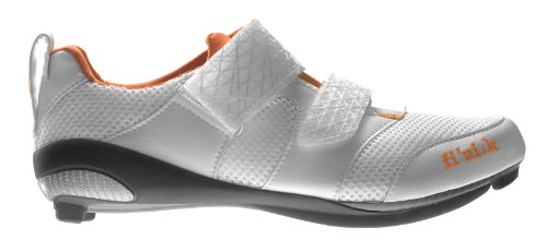 Fizik K1 Donna - triathlon cycling shoes, woman, White / Violet / Orange