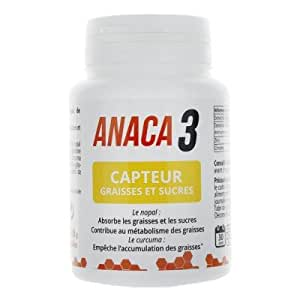 ANACA3 CAPTEUR DE GRAISSE ET SUCRES