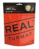 "REAL FIELD MEAL 'Original Real/drytech Norvégienne Expedition Nourriture, 5220""saumon avec Pâtes et sauce Chantilly, 601Kcal/129G (500g) d'urgence de restauration"