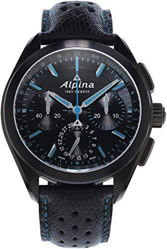 Alpina Geneve Alpiner 4 Flyback Chronograph AL-760BN5FBAQ6 Cronografo automatico uomo Calibro di manifattura