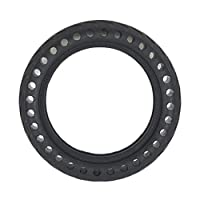 Pegcduu Replacement For Xiaomi M365 Scooter 8.5 Inch Front/Rear Electric Scooter Tire Solid Wheel Shock Absorption Tyre