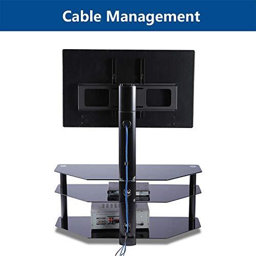 Tavr Furniture Meuble Tv Avec Support Bracket Pivotant Hauteur