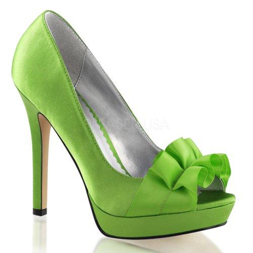 Pleaser, Scarpe col tacco donna Apple Green Satin