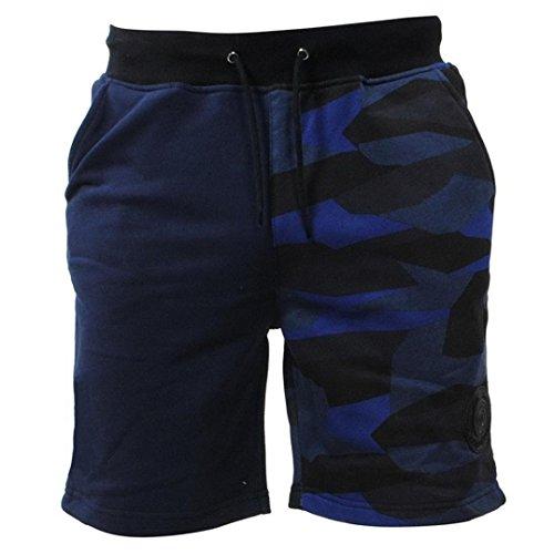 Camouflage Shorts Männer beiläufige Tasche Strand Arbeit beiläufige kurze Hosen Mode Hosen GreatestPAK,Marine,XXXL