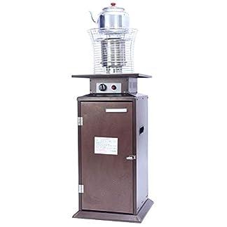 GT-LYD Estufa Gas Terrazas Pirámide, Calentador De Gas Móvil Ajustable, Ahorro De Energía Multifuncional Y Protección del Medio Ambiente Calentador Humidificador De Alta Potencia