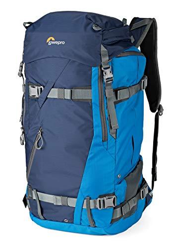 Lowepro LP37231-PWW Powder BP 500 AW Outdoor Rucksack (für Wintersport- und Trekking-Equipment für Foto/Video Equipment und persönliche Gegenstände, geeignet für DSLR/ Spiegellose & Zubehör) blau - Backcountry-ski-rucksäcke