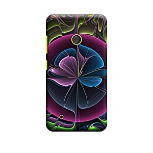 Qbic 3D High Quality Designer Mobile Back Case Cover For Nokia Lumia 530 (Premium Matte Finishing Back Case)