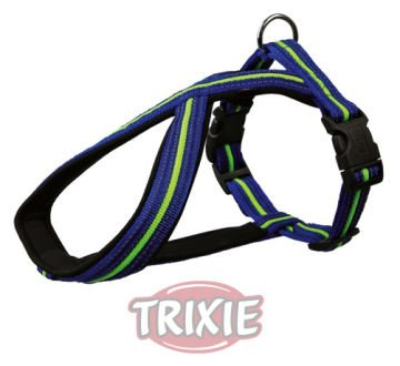 Gepolsterte Fusion (TX-20882 Fusion Touring Harness M: 45-70 cm/23 mm, Blue/Green)