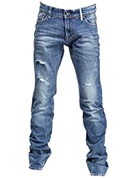 Teddy Smith - Jeans Enfant Marlon Jr 60105344d 307de Vintage Destroy