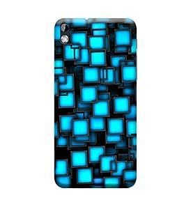 Ebby Premium Printed 3D Designer Back Case Cover For HTC 816 (Premium Designer Cae)