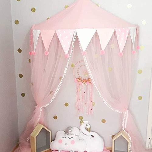 Kinder Netze Baldachin Zelte, Prinzessin Mädchen Bett Markise, Indoor Boy Half-Moon Game Lodge, Lesen Leseecke Layout, Hängendes Zelt (Lesen Baldachin Für Kinder)