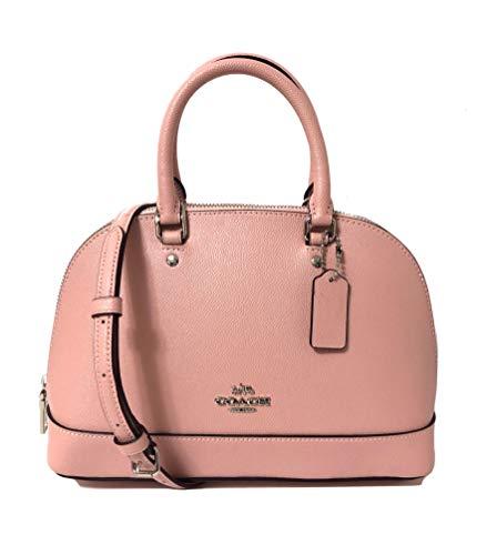 Coach Damen-Handtasche mit Schultern, schräg, Mini Sierra, Pink (Sv/Petal), Mini -