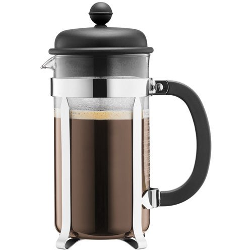 Bodum Caffettiera Coffee Maker - 1.0 L/34 oz, Black Test