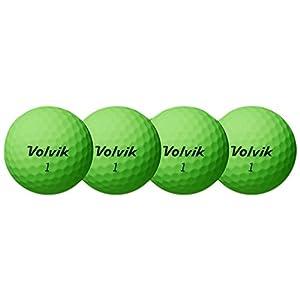 Volvik Unisex Vivid XT Golf Balls, Green, One Dozen