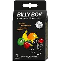 Billy Boy Kondome 4er Packung coloured, flavoured - Aroma preisvergleich bei billige-tabletten.eu