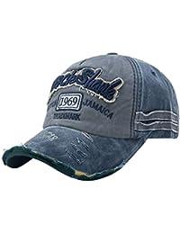 39b8f361a5cdd UMIPUBO Gorra de Béisbol Hombre de Estilo Vintage Unisex Cap Deportes al  Aire Libre Sombrero Ajustable