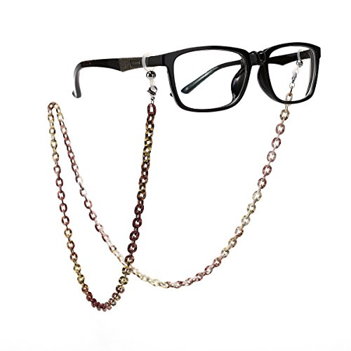 Tinksky Brillenkette Brillenhalter Aluminium Brillenband Sonnenbrillen Gläser Halterung