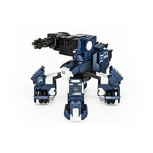 GJS Robot de Combate geio FPS con reconocimiento Visual, Azul