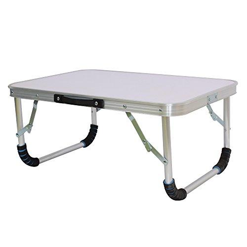 Zusammenklappbarer Laptop Schreibtisch Tisch Ständer Bett Sofa tragbar klappbar klein Camping Picknick Grill Party Tisch Schreibtisch