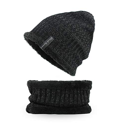 Amphia - Mütze Hut - Warme häkeln Winter Wolle Stricken Villus Beanie Skull Slouchy Caps Hut Dicker