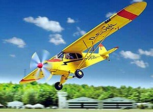 aue-verlag 28x 28x 44x 11cm Piper Super Cub modèle Kit