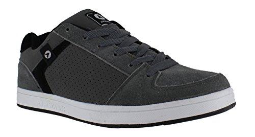 airwalk-brock-mens-boys-skate-lace-up-casual-suede-trainers-uk-4-grade-b
