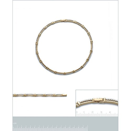 Collier Femme Plaqué Or 750 3 Microns Bic