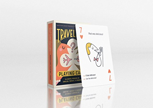 Traveler's Playing Cards: 54 Useful Phrases in English, French and Spanish por Herb Lester