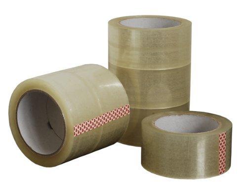 Generic 6 Rollen Paketband Klebeband Packband Klar 50 mm x 66 m (X 6 Klebeband)