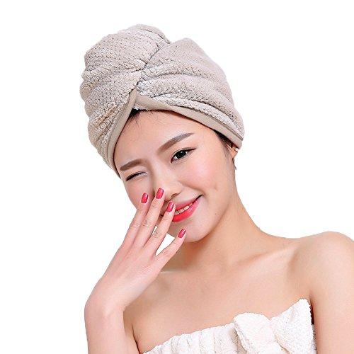 Mujeres Damas gorro baño ducha microfibra toalla