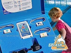 Alarme enfant Splash Buzzer avec 3 colliers et malette VigiPiscine HGP0003062