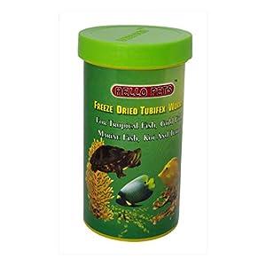 "Hallofeed Freeze Dried Tubifex Worms Fish Food | 40 Gms | Free ""Hallofeed"" Ballpen"
