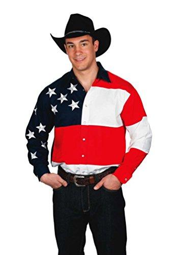 mens-100-cotton-stars-stripes-usa-flag-western-express-shirt-3xl
