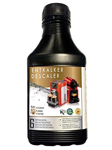 Descalcificador natural para cafeteras, 500 ml, para 6 descalcificaciones.