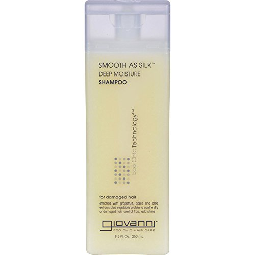 Giovanni Hair Care - Smooth As Silk Deep Moisture Shampoo, 8.5 fl oz liquid