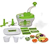 #7: KE BRAND Plastic Dough Maker, Vegetable Cutter, Slicer, Dicer, Atta Kneader Food Processer (Multicolour)
