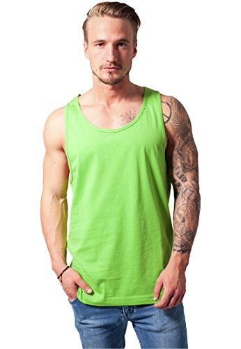 Preisvergleich Produktbild URBAN CLASSICS TB365 Jersey Big Tank Top Muskelshirt, Größe:S;Farbe:limegreen