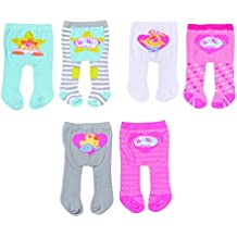 43 cm Kleid+Strumpfhose+Socken NEU Puppenkleidung Baby Born zb pink