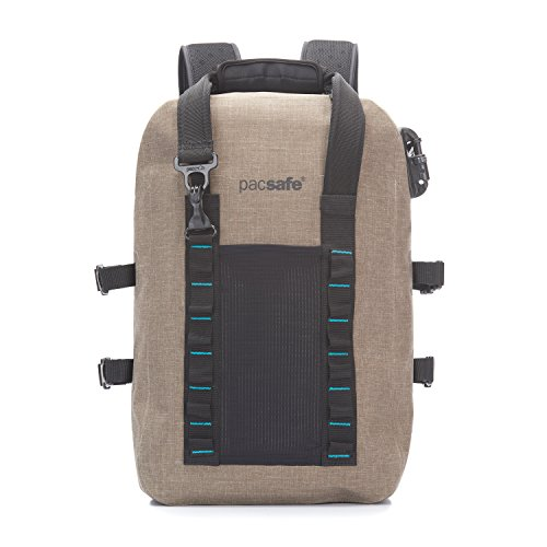 PacSafe Pacsafe Dry 25L Anti-Theft Backpack Rucksack, 46 cm, 25 liters, Beige (Sand 210)