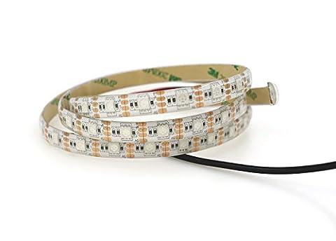 Jinda 2M RGB USB ruban led for Noël Nouvel An Party, 5V Etanche USB bandeau led pour Maison, Cuisine Éclairage de décoration