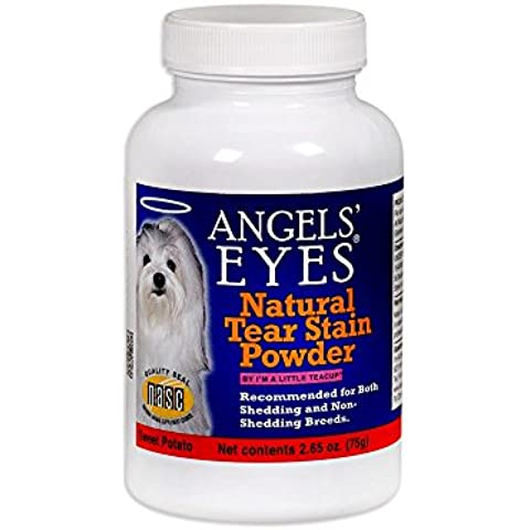 Angels Eyes Tear Stain Remover Natural Sweet Potato Flavor (2.65 oz) - 75 grams by (Marshmallow Root Powder)