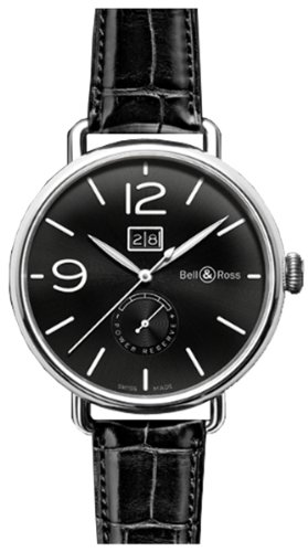 Bell and Ross BRWW190-BL-ST/SCR - Reloj para hombres color negro